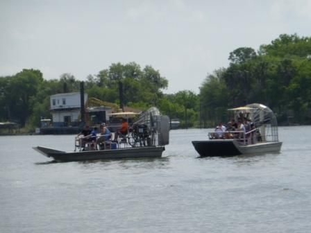 ideal swamp transport - airboats at AAO 2014