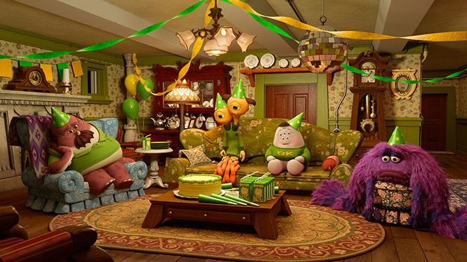 If this first-look image is any indication, the Oozma Kappa brothers might not be the biggest party animals Monsters University has ever seen.