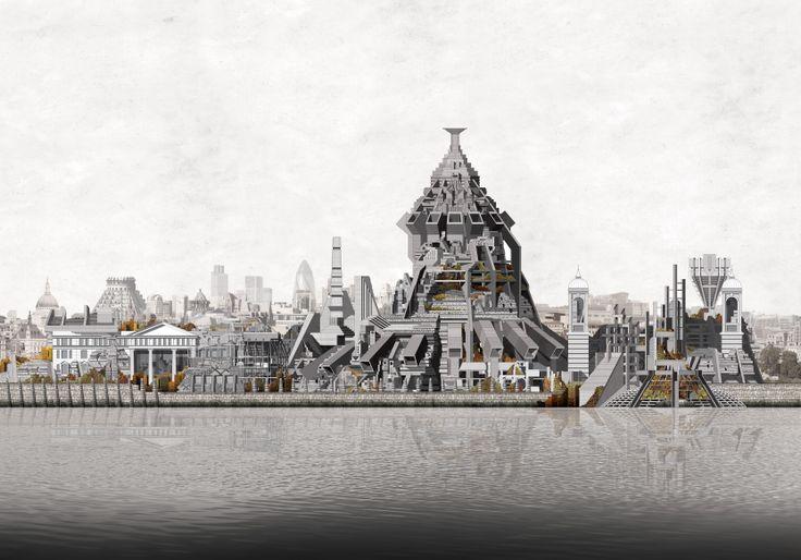 The London Brickworks Project - site elevation