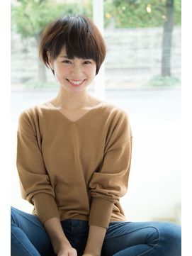 Un ami 【HIRA】大人可愛いひし形小顔ショートボブ - 24時間いつでもWEB予約OK!ヘアスタイル10万点以上掲載!お気に入りの髪型、人気のヘアスタイルを探すならKirei Style[キレイスタイル]で。