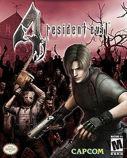 Box Art for Resident Evil 4. Check out my retrospective of the game at the link!