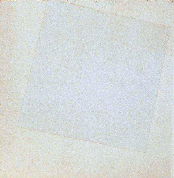 Kazimir Malevich: Suprematist Composition: White on white