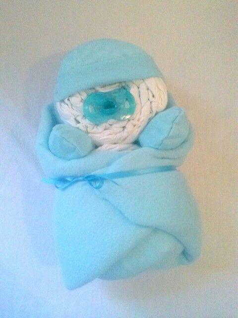 "Baby Bundle of Joy diaper cake! Any colors or themes! Corner Stork Bakery ""like"" us on FB"