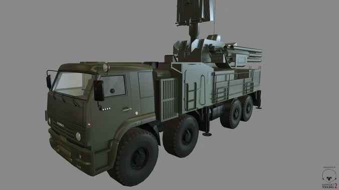 Pantsir-s1 | 3D Model