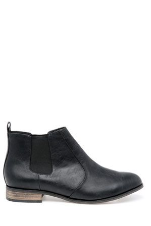 Miss Shop Penny Boot (black) Originally AUD$79.95 - I purchased in store for AUD$59.96  A staple boot for autumn, easy to style and very comfortable!  http://www.myer.com.au/shop/mystore/boots/miss-shop-161590870--1