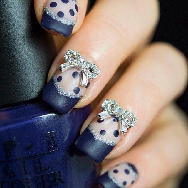 Bows and Nails! best combination Ever
