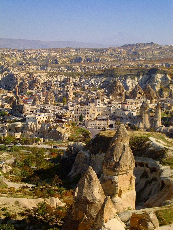 About Goreme in Cappadocia Turkey : Cave Hotels, Churches & More