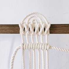 The Clove Hitch is a Crossing Knot and may be tied in the bight or with the ends
