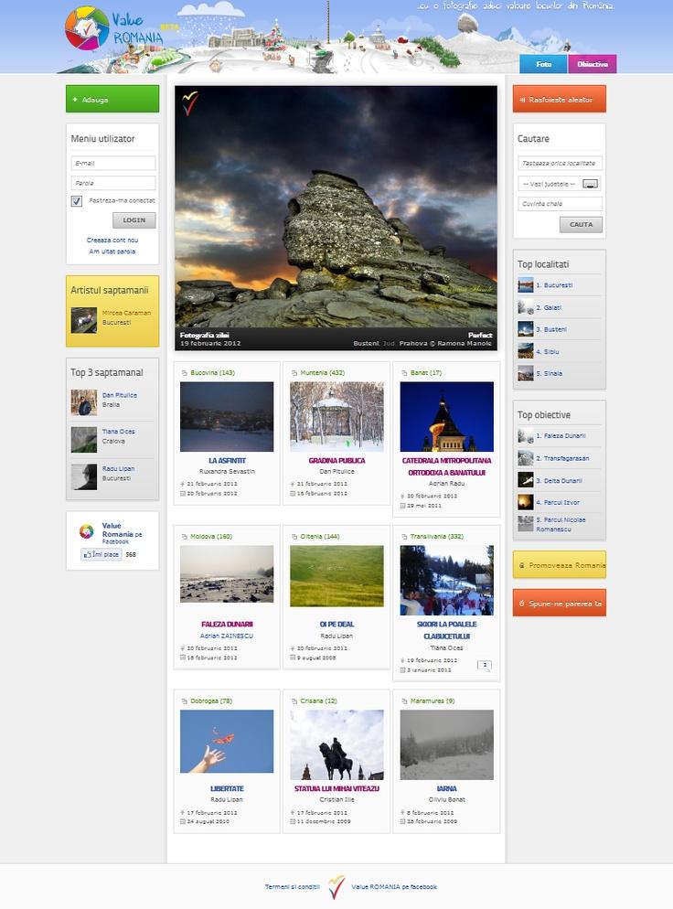 Web Design Valueromania.ro   http://www.agentiaweb.ro/dezvoltare-web/web-design/portal-web/100-value-romania