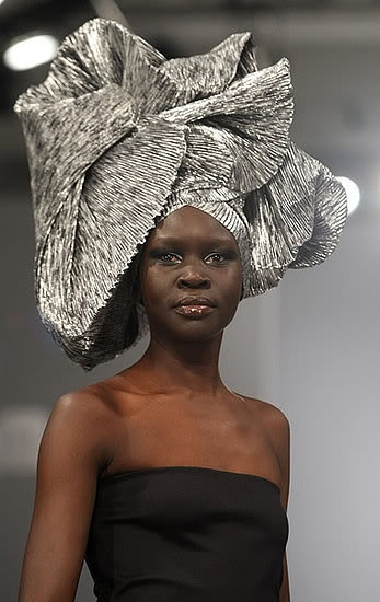 Nigerian Gele- Head Wrap ~ Wedding Bells