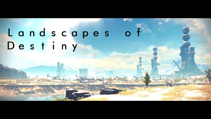 Landscapes of Destiny - Earth
