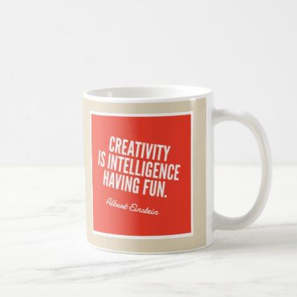 Einstein's Creative Juice Coffee Mug - decor gifts diy home & living cyo giftidea