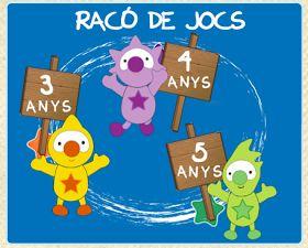La Caseta, un lloc especial: Jocs per a Educació Infantil