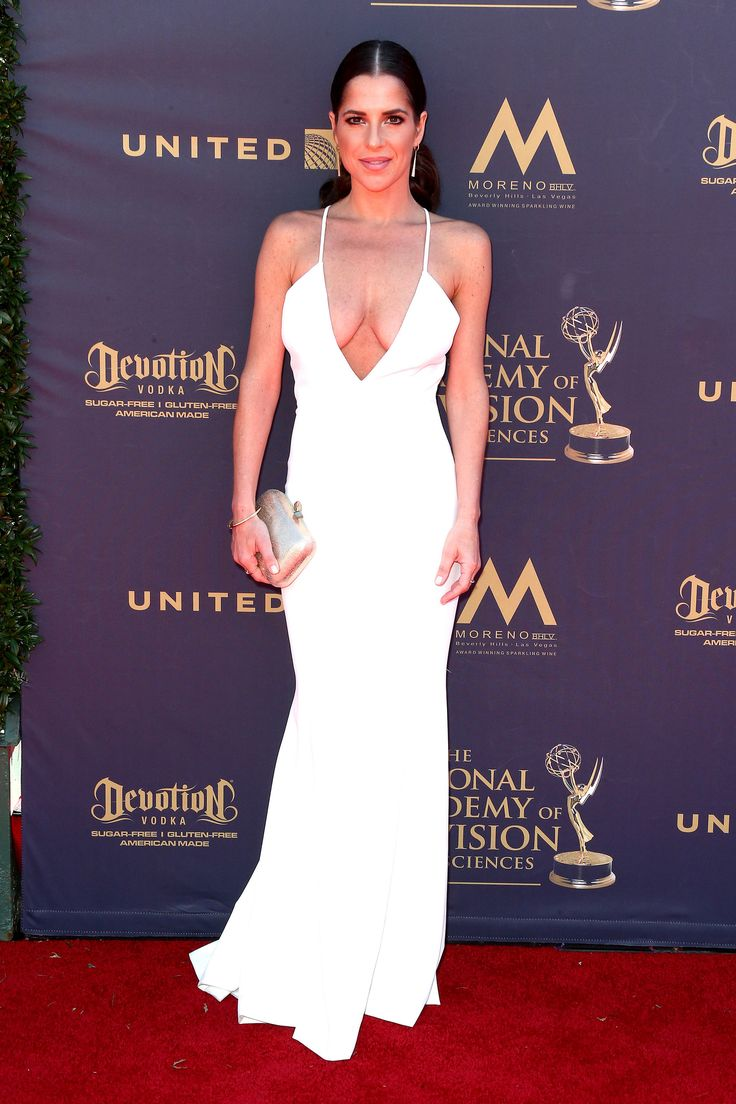 PASADENA, CA - APRIL 30: Kelly Monaco attends the 44th Annual Daytime Emmy Awards at Pasadena Civic Auditorium on April 30, 2017 in Pasadena, California. (Photo by Tommaso Boddi/WireImage) via @AOL_Lifestyle Read more: https://www.aol.com/article/entertainment/2017/04/30/2017-daytime-emmy-awards-red-carpet-arrivals/22062981/?a_dgi=aolshare_pinterest#fullscreen