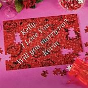 creative proposal: Puzzle Proposal, Gift Bags, Message Puzzle, Secret Proposals, Engagement Wedding, Dream Wedding, Wedding Proposals, Christmas Proposal