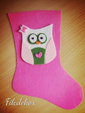 pink boot and owl