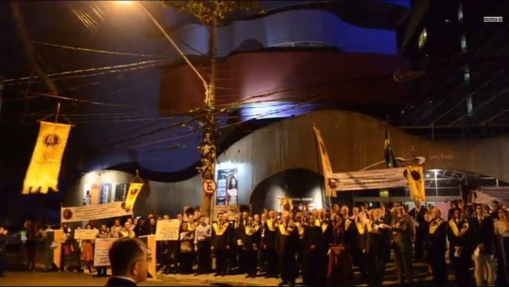 Realizado em São Paulo grande ato público de reparação contra a peça Jesus Cristo SuperStar - IPCO - Instituto Plinio Corrêa de Oliveira