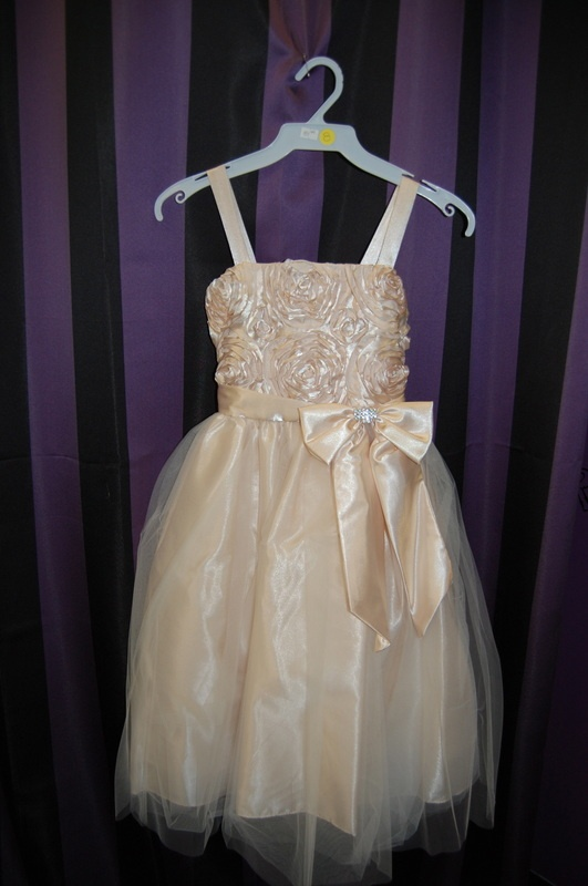 KK6006 Champagne Rose Top Princess Dress 84.99    This one is one of my favourites