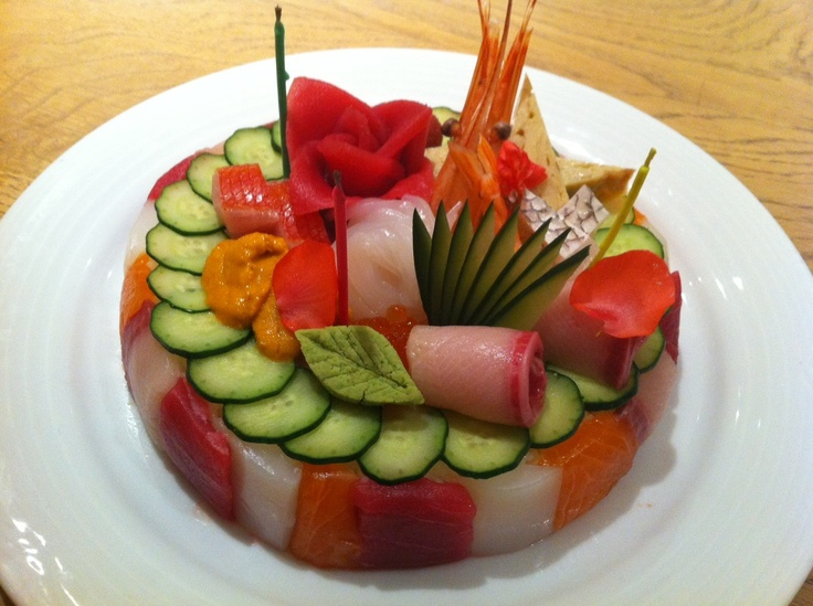 Idea Sushi Recipe Sushi Chef Sushi Cakes Chef Morimoto Birthday