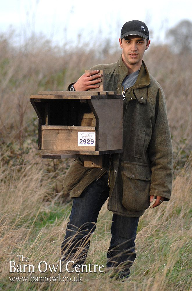The Barn Owl Centre - Kestrel Nest Box (Made from 18mm Plywood) - The Barn Owl Centre is a UK registered Barn Owl charity