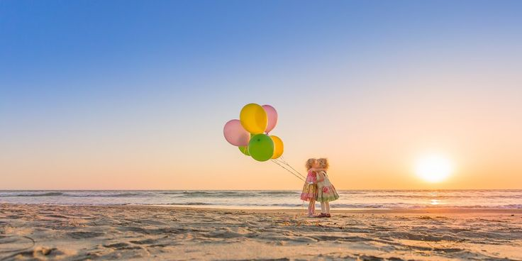 Balloons & Beach