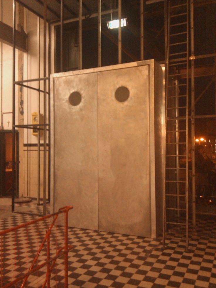 aluminium entrance