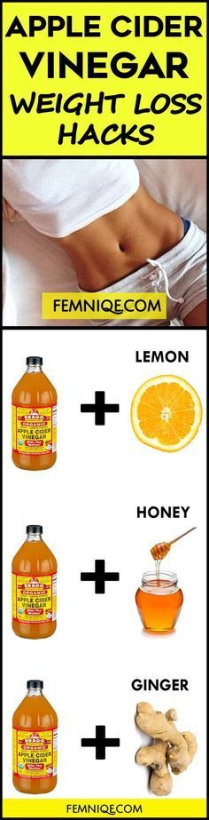 (2017) How To Use Apple Cider Vinegar for Weight Loss -  This apple cider vinegar weight loss drink recipe will help reduce your total body fat.