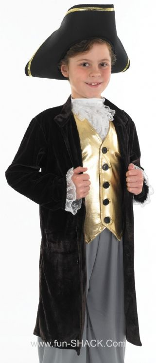Young Gentleman Pirate Fancy Dress Costume Fun Shack