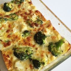 Recept: Broccoli och blomkålsgratäng med ädelost. Ett supergott alternativ till potatisgratäng. Passar utmärkt till både kött, fisk och kyckling.