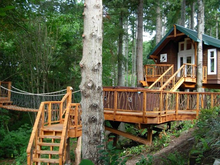Kids Tree House Plans Designs Free 111 best tree houses images on pinterest | treehouses, us travel