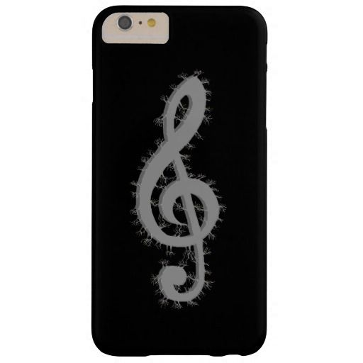 Electric Treble Clef Barely There iPhone 6 Plus Case