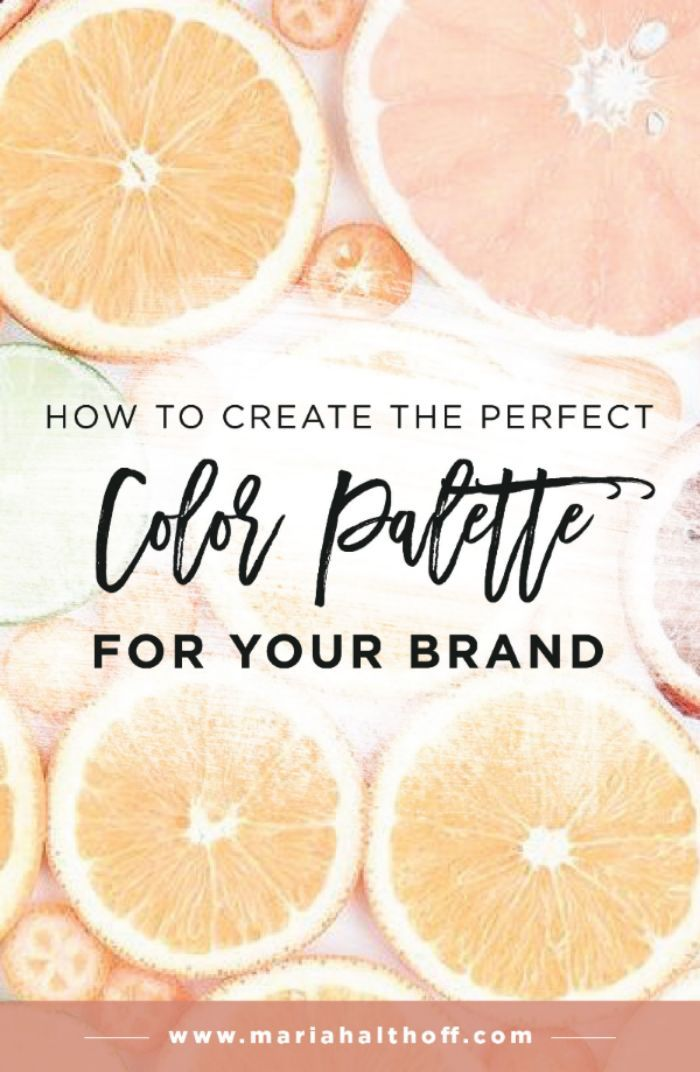Creating a color palette or color scheme for your brand is extremely important to your visually identity and a key element of your branding. Looking to DIY your brand? Look no further! Check out this post full of step-by-step methods on creating your own color palette or color scheme.