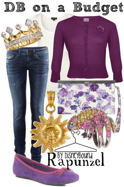 This site has some wonderfully quirky, fun and real world wearable outfits inspired by Disney and other fantasy movies.