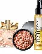 Zestaw Avon Luck 50ml Perełki oraz Luksusowy Spray