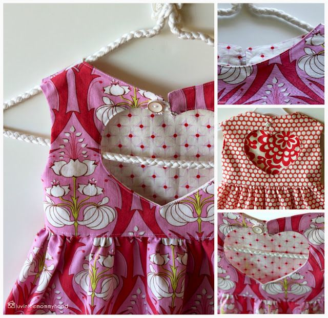 The sweetheart dress tutorial  by luvinthemommyhood
