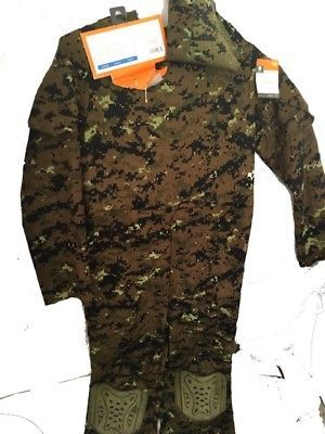 Seal Commando Boys Youth Halloween Camouflage Jumpsuit Costume Sz L