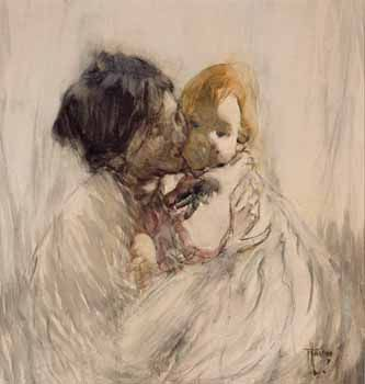 Mother and Child by Frances Hodgkins - http://www.prints.co.nz/page/fine-art/PROD/40_Top_New_Zealand_Art_Prints/8173