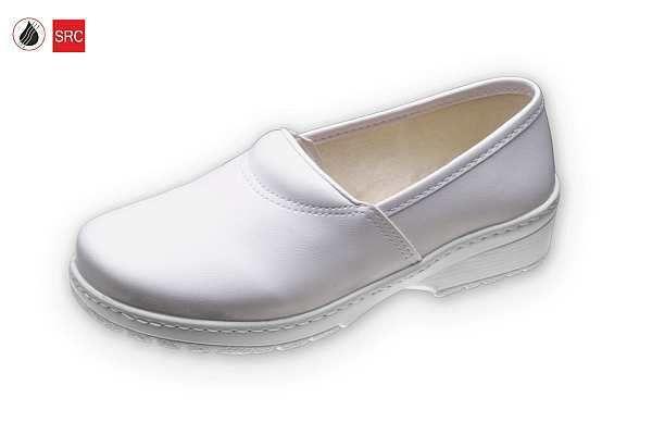 klumpa 030 fehér, méret:35-41, ISO20347 OB SRC (csak kereskedőknek,előrendelésre kapható)