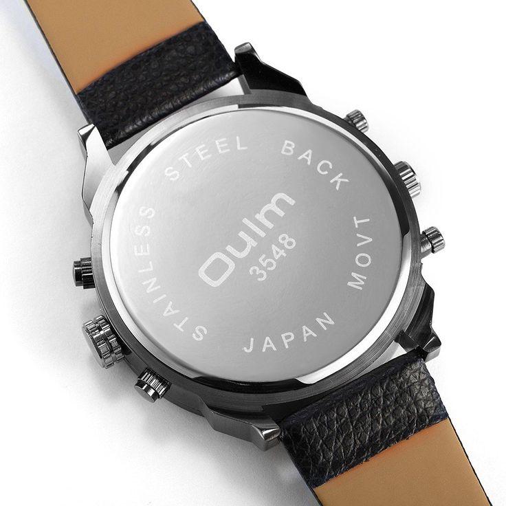 OULM Men Watch Sports Luxury Four Movements Charming Watch