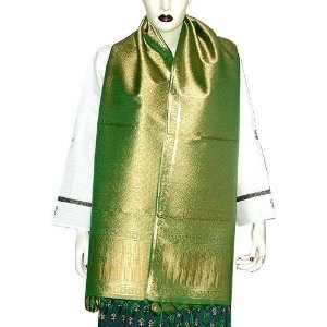 Ladies Scarf Premium Silk Exclusive Workmanship (green) (Apparel)  http://howtogetfaster.co.uk/jenks.php?p=B001HYWQ0K  B001HYWQ0K