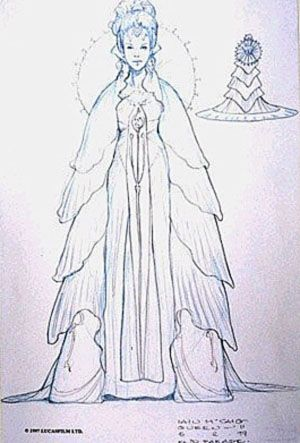 Star Wars Padme Amidala Parade Celebration Dress - Original Concept Art ✤ || CHARACTER DESIGN REFERENCES | キャラクターデザイン • Find more at https://www.facebook.com/CharacterDesignReferences if you're looking for: #lineart #art #character #design #illustration #expressions #best #animation #drawing #archive #library #reference #anatomy #traditional #sketch #development #artist #pose #settei #gestures #how #to #tutorial #comics #conceptart #modelsheet #cartoon || ✤