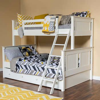 Dakota Twin over Full Bunk Bed with Trundle