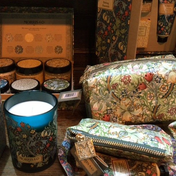 Tomorrow is your last chance to visit the Heathcote & Ivory stand at Spring Fair 2016 (Stand 20E04-F05 in Hall 19-20) to see some of the Morris & Co. accessories range of beautiful toiletries and home fragrances inspired by our fabric and wallpaper collections.  @_heathcoteandivory @springautumnfair #SpringFair16 #Acessorie
