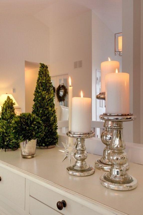 Delightful Holiday Bathroom Decorating Ideas Part - 9: Top 35 Christmas Bathroom Decorations Ideas