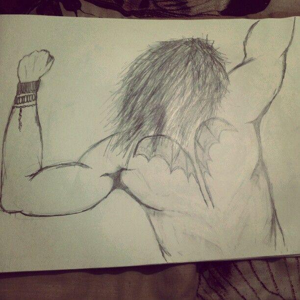 The rocker #art #sketch #rocker