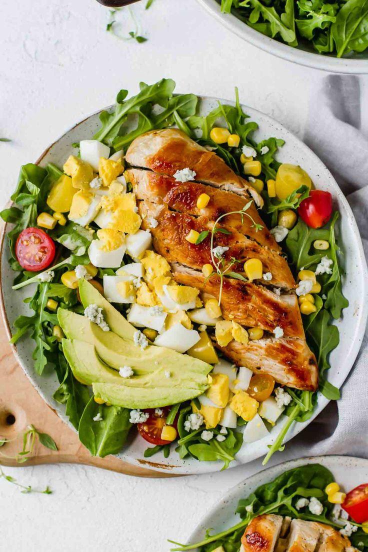Healthy Chicken Cobb Salad