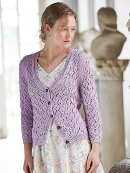 pretty summer sweater----Esta