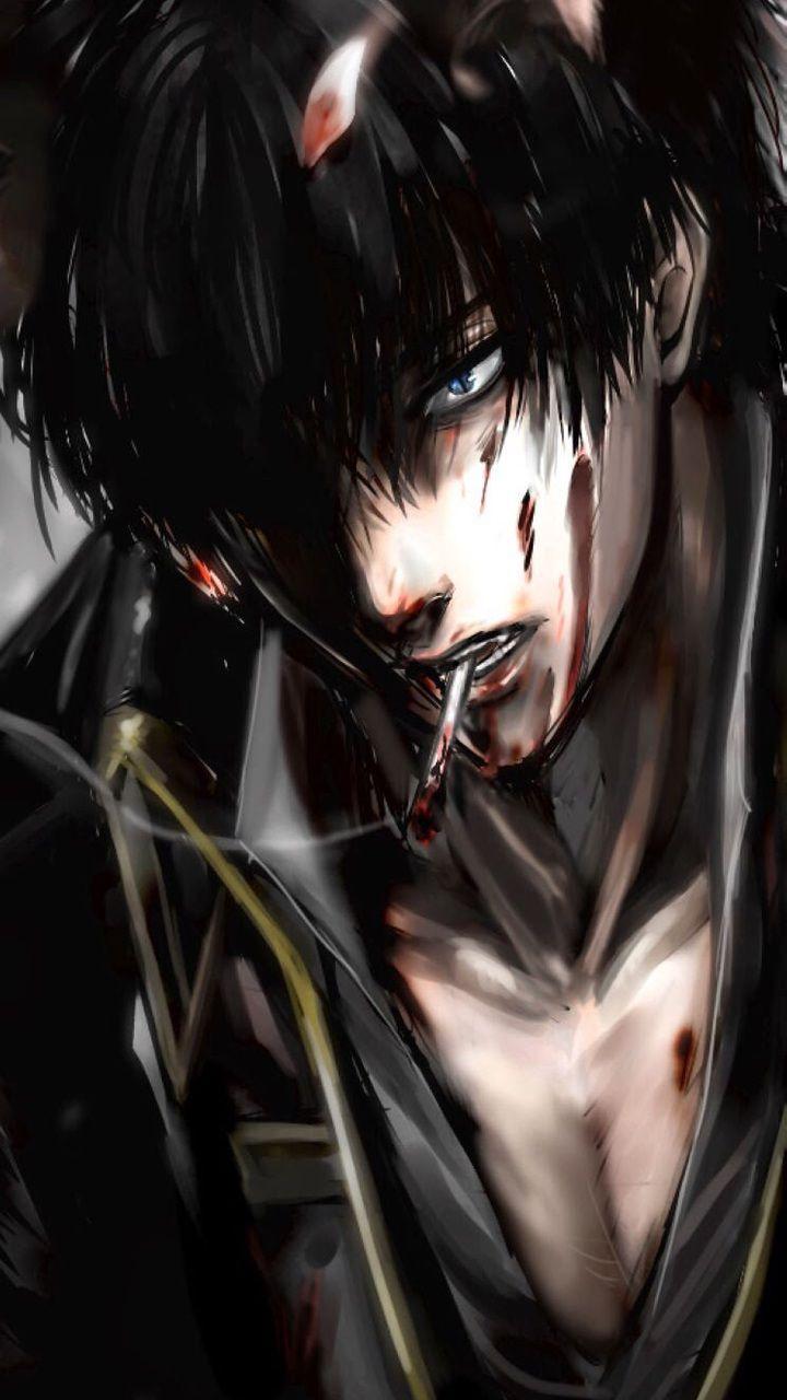 Gintama bloody anime boy
