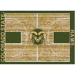 Colorado State Rams College Basketball 3x5 Rug from Miliken