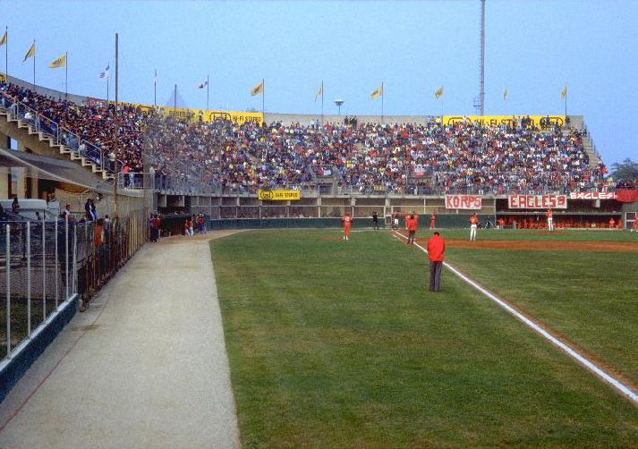 Stadio Jannella Grosseto, Italy Home of the Grosseto Orioles